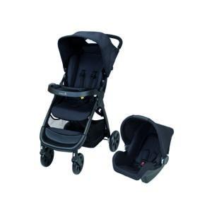 safety 1st poussette b b duo amble noir pas cher achat vente poussettes modulables. Black Bedroom Furniture Sets. Home Design Ideas