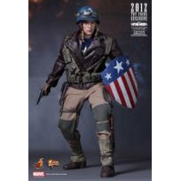 Hot Toys - Mms180 - Marvel Comics - Captain America The First Avengers Rescue Vers