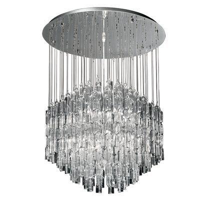 boutica design suspension majestic transparent 10x40w ideal lux 087269 pas cher achat. Black Bedroom Furniture Sets. Home Design Ideas