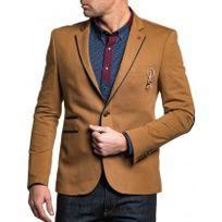 BLZ Jeans - Veste de costume homme marron chic