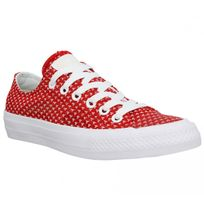 converse rouge feme