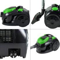 Rocambolesk - Superbe Aspirateur sans sac 1000 Watt - Eco Power - vert neuf