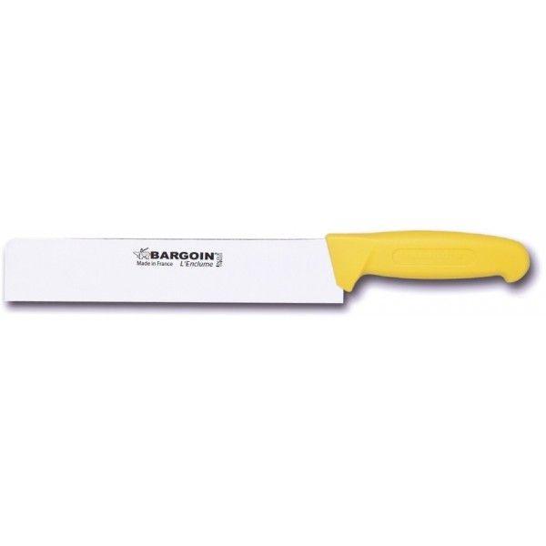 Fischer Couteau à fromage Bargoin jaune lame 25cm