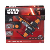 Mtw - 3107200 Star Wars Episode Vii - Véhicule radiocommandé sonore et lumineux Poes X-wing Fighter 26 cm