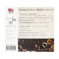 Avie - Georg Friedrich Händel : Dixit Dominus - Ode for the Birthday of Queen Anne - Zadok the Priest