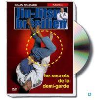 Budo Editions - Jiu-jitsu brésilien : les secrets de la demi-garde, vol.3