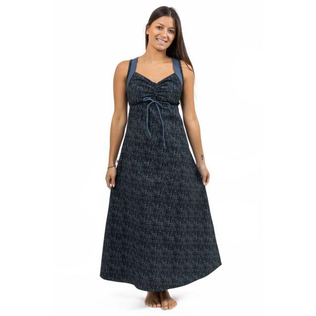 58ddee33bc7 Fantazia - Robe longue originale ethnic print Nylah - pas cher Achat ...