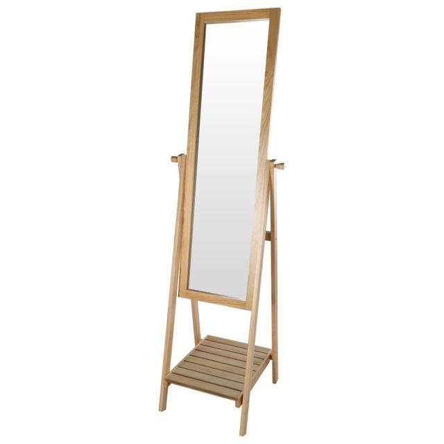 Home&STYLING Miroir sur pied 41,5 x 49 x 174,5 cm Mdf