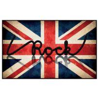 Deco Tapis - Tapis I Love Rock touché moquette 57x115
