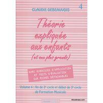 Edition Delrieu - Méthodes Et Pédagogie Debeauvois Claudie - Théorie Expliquée Aux Enfants Vol. 4 Théorie - Harmonie