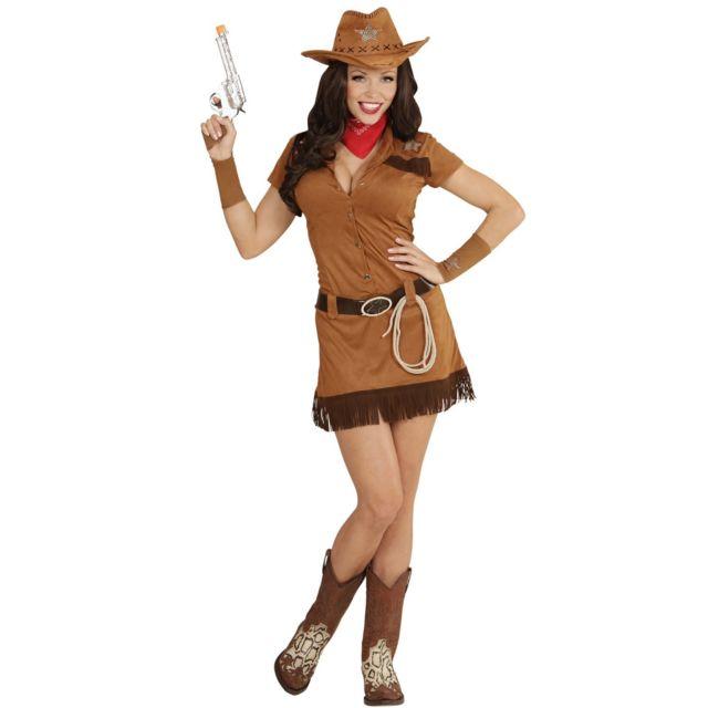 1611a19cf59fa0 Sans - Déguisement cowgirl de l'ouest femme - taille - Xl - 229608 ...
