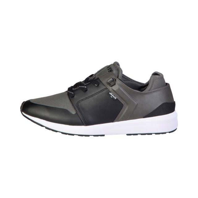 bf28c84be7052 Buzzao - Chaussures de tennis à lacets semelles épaisses grises Homme -  Levis