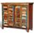 Vidaxl Cabinet vintage Multicolore 4 portes
