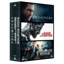 WARNER BROS - coffret jake gyllenhall : prisoners + la rage au ventre + source code