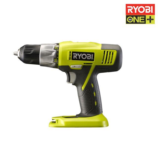 RYOBI - Perceuse-visseuse 18V OnePlus sans batterie ni chargeur R18DDP2-0