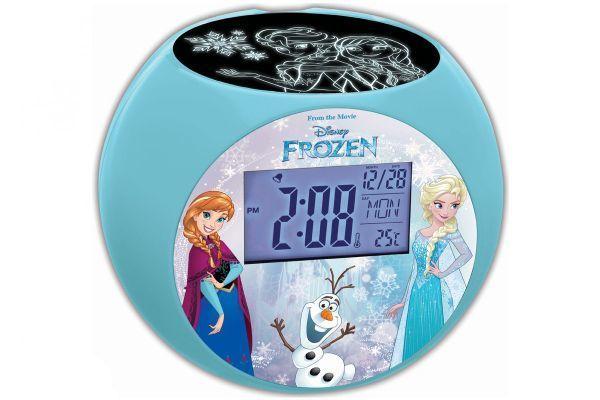Radio réveil enfant Projecteur Disney La Reine des Neiges