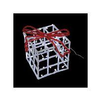 Lealight - Cadeau Lumineux 3D Effet Givré Led 20 cm Blanc