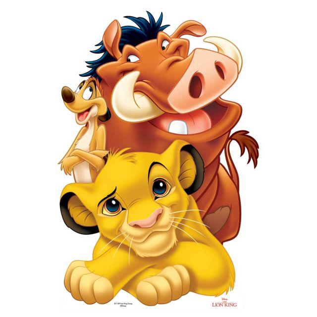 P/épini/ère Pour Ordinateur Portable vinyle d/écalque stickers muraux chambre Roi Lion Sticker B/éb/é Simba /À Bord Rafiki Roi Lion Sticker Autocollant Pour Fen/être De La Voiture