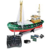 Carson - Fischkutter Cux-13 Rtr complet