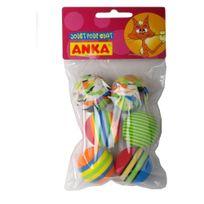 Anka - Jouet pour Chat Pack 6 Balles Assorties