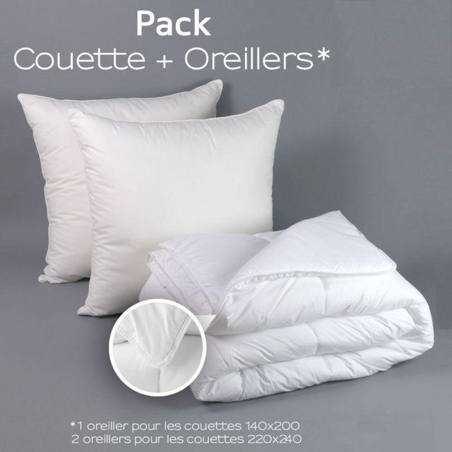 Reves Deco Couette Blanche 450gr M Fabrication Francaise 2