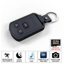 Shopinnov - Camera espion Cle de voiture Hd vision nocturne et detection mouvement