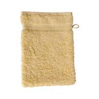 Homemaison - Gant de toilette 16 x 22 cm en Coton couleur Chardonnay