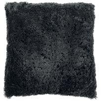 Tiseco Home Studio - Coussin Fluffy 45 x 45 cm Gris