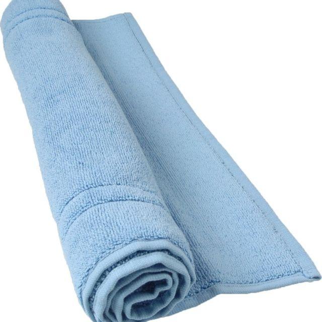 100POURCENTCOTON Tapis de bain 50x80 cm 900 g/m2 couleur Lavande 100% coton gamme Luxury
