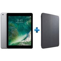 APPLE - iPad - 32 Go - WiFi - MP2F2NF/A - Gris Sidéral + Etui folio Snapview noir pour iPad 9,7