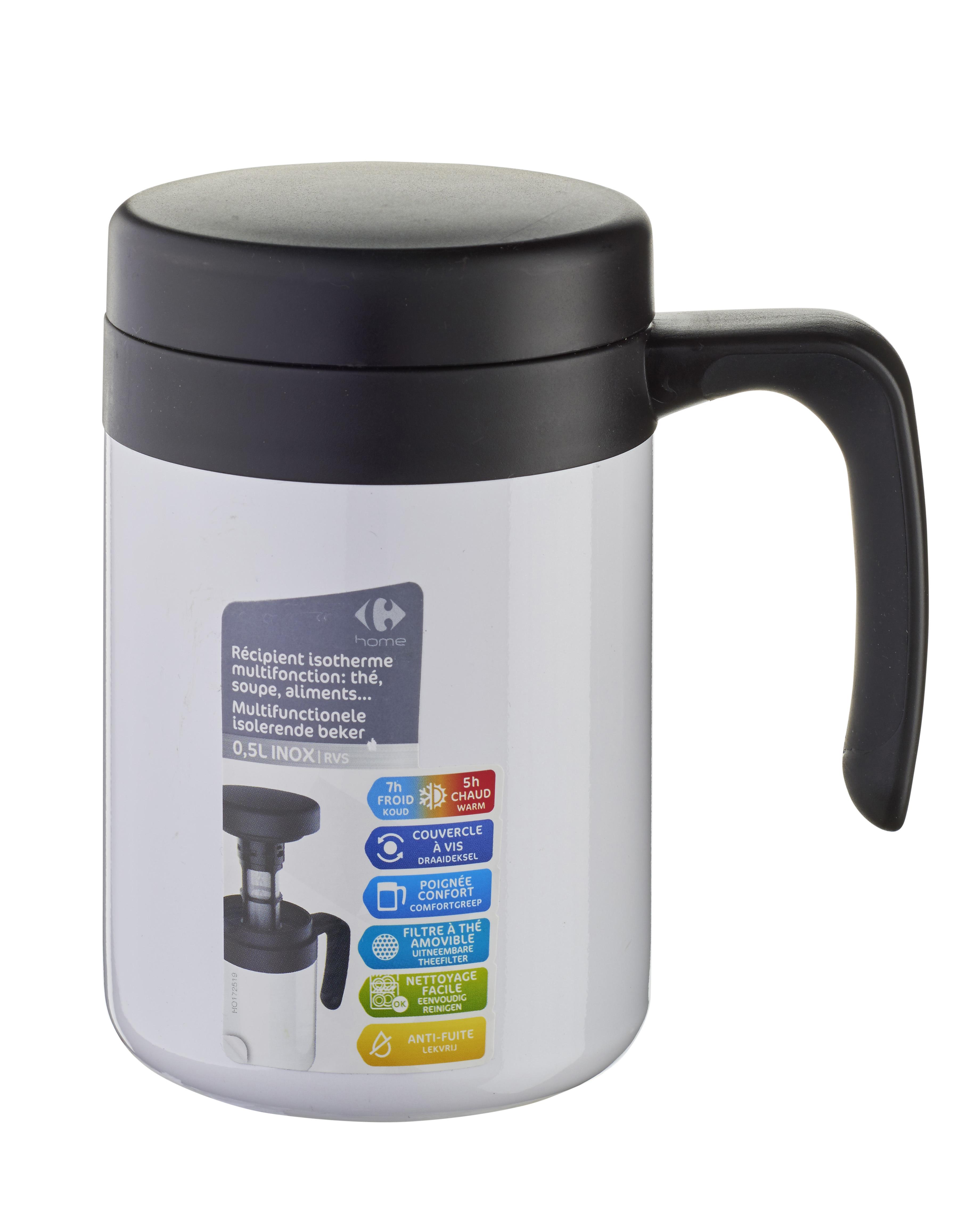 Home Isotherme Carrefour Ml Multifonction 500 À Soupe Mug vmwONn80