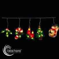 Lealight - Guirlande lumineuse Stalactites de Noël Colorées