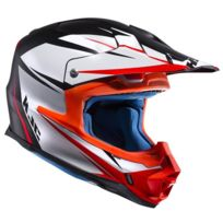 1a4a829c2b24a5 Hjc - casque moto cross enduro quad Fibre Fx Cross Axis Mc5SF noir rouge  blanc mat