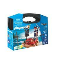 PLAYMOBIL - Valisette Pirate - 5655