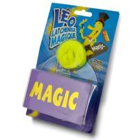 Oid Magic - Léo la chenille magique avec boîte à apparition et Dvd : Jaune