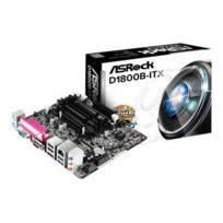 Asrock - D1800B-ITX - Carte-mère - mini Itx - Intel Celeron J1800 - Usb 3.0 - Gigabit Lan - carte graphique embarquée - audio Hd 6 canaux
