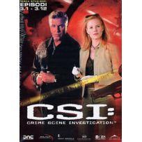 Koch Media Srl - Csi - Crime Scene Investigation Stagione 03 Episodi 01-12 IMPORT Italien, IMPORT Coffret De 3 Dvd - Edition simple