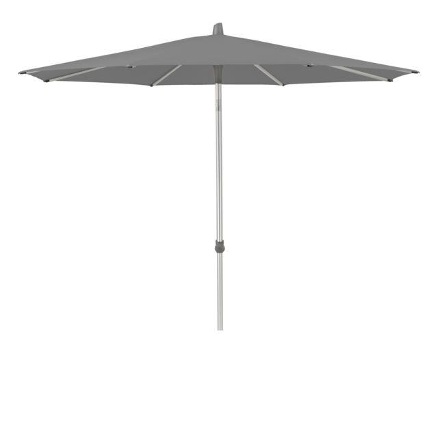 Glatz Parasol rond Alu-Smart - Ø200 cm - 420 Smoke