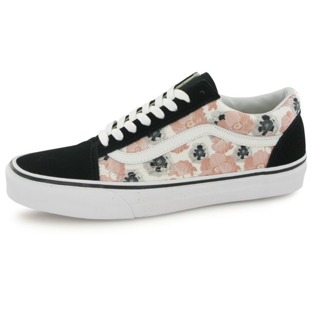 Vans Old Skool California Poppy noir, baskets mode femme