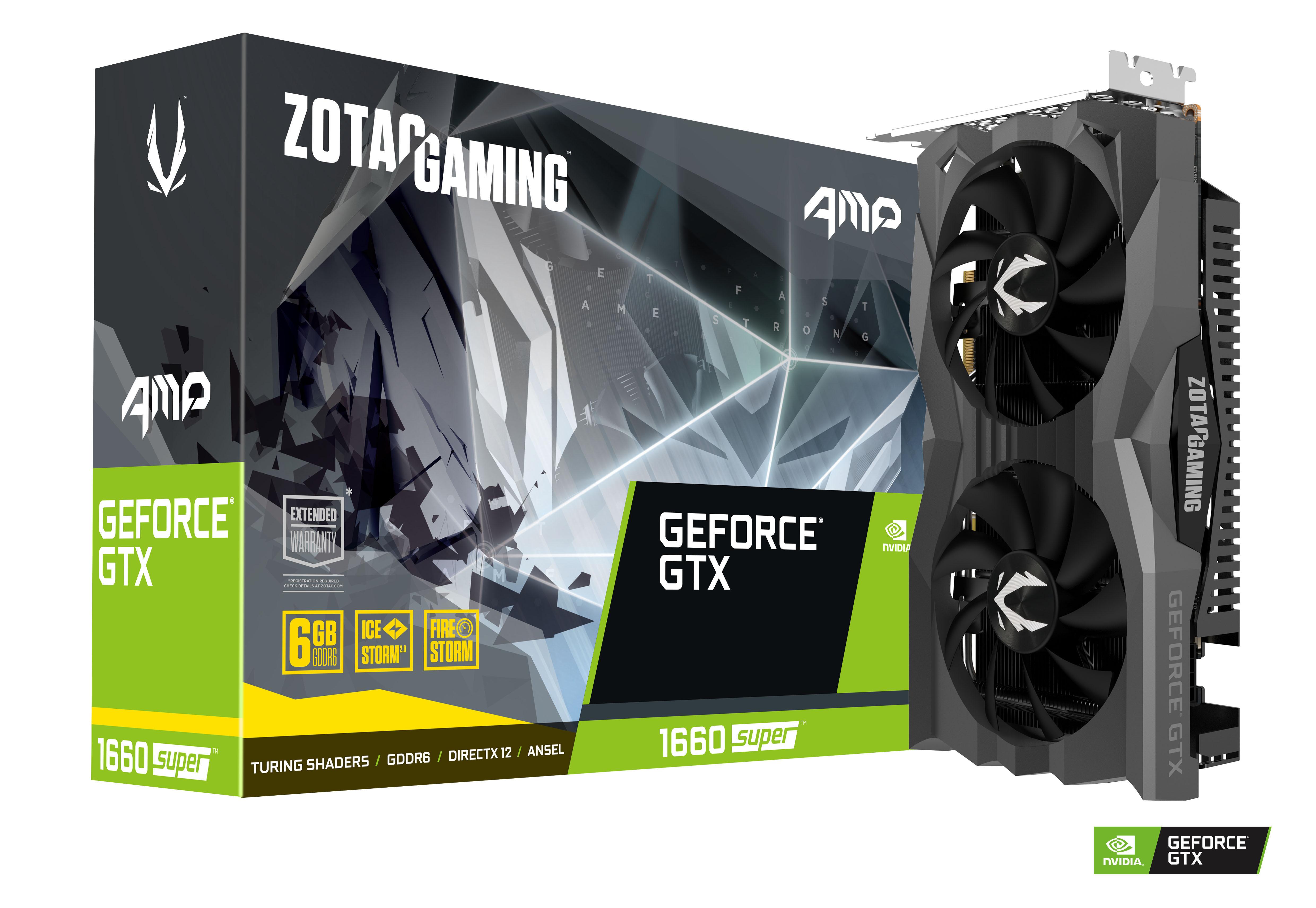 Geforce GTX 1660 Super - AMP - 6 Go