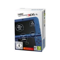 New 3DS XL Bleu Métallique
