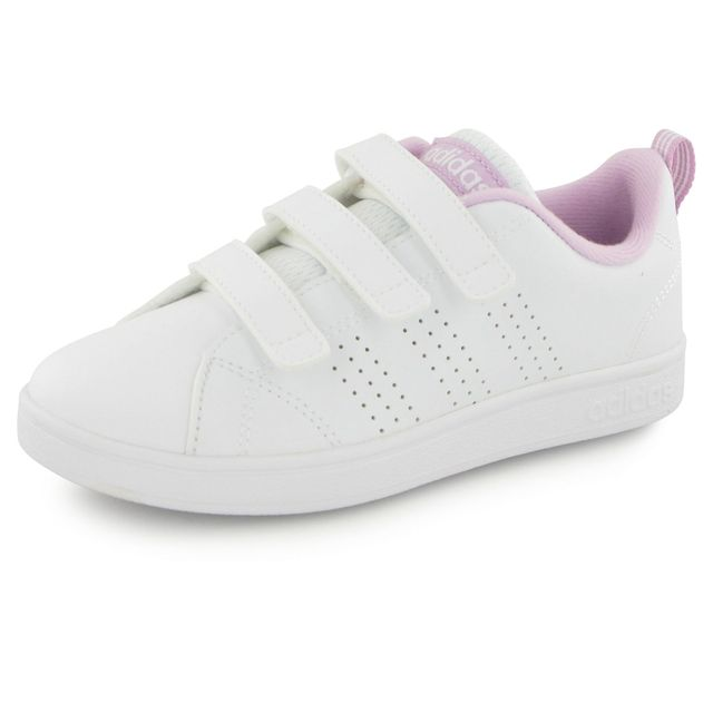 Adidas Baskets Advantage Clean Velcro pas cher Achat