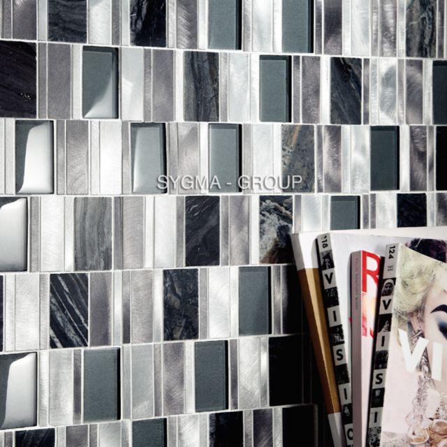 Sygma-group - mosaique salle de bain et douche en aluminium et verre ...