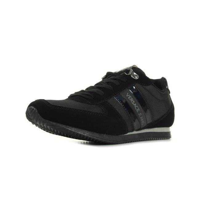 Versace - Linea Sneaker Nylon Suede Noir - 40 - pas cher Achat ... 90594173f73