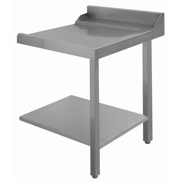 Bartscher Table glissement droite