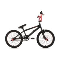 KS CYCLING - BMX Freestyle 20'' Dynamixxx noir et rouge