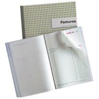 Exacompta - 1 Carnet Factures Manifold Ncr 210X297 mm 50 dupli