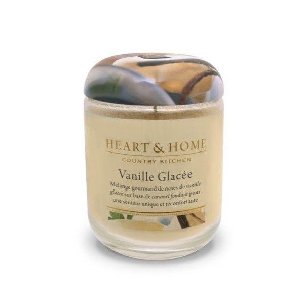 Kontiki Vanille glacée - Bougie grande jarre