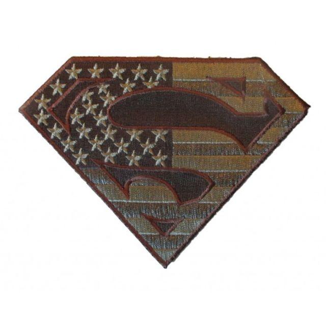 hotrodspirit Patch Crane Punisher Drapeau USA Marron 9x6 cm ecusson thermocollant USA Drapeau