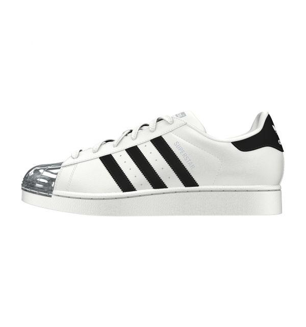 Adidas originals - Adidas Superstar Metal Toe W Blanc